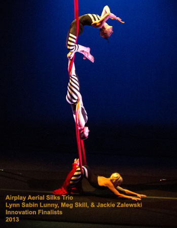 2013 Airplay Aerial Silks Trio